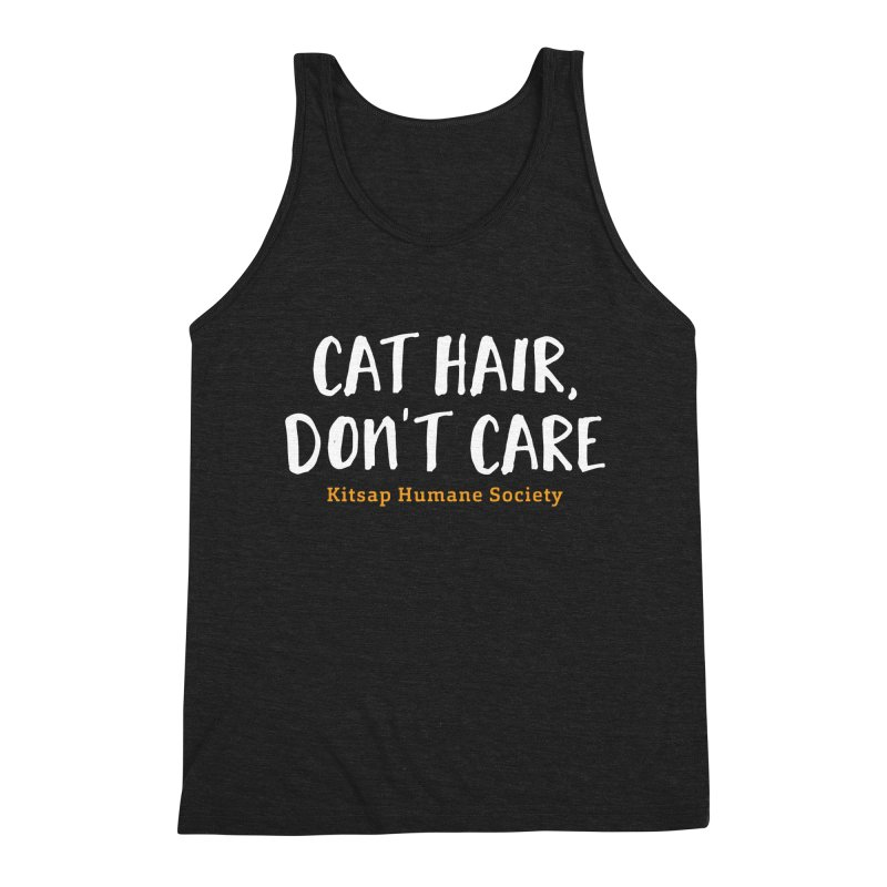 Cat Hair, Don't Care Men's Tank by Kitsap Humane Society's Artist Shop
