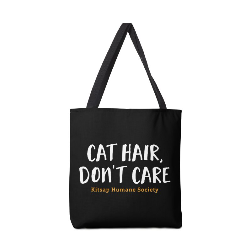 Cat Hair, Don't Care Accessories Bag by Kitsaphumanesociety's Artist Shop