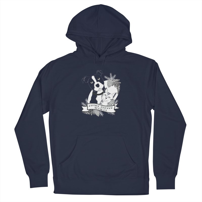 Tattoo Style KHS Men's Pullover Hoody by Kitsap Humane Society's Artist Shop