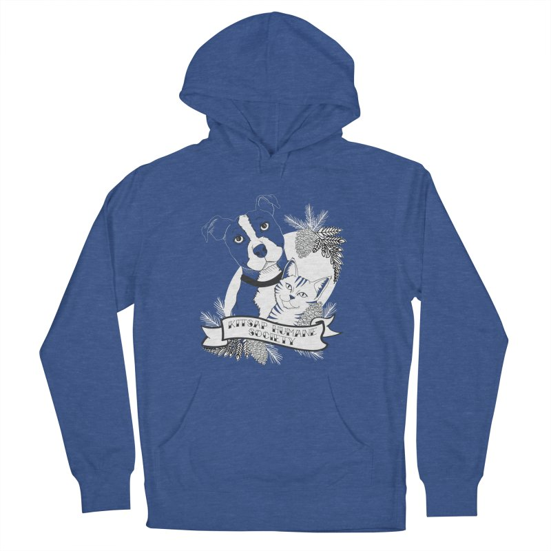 Tattoo Style KHS Women's French Terry Pullover Hoody by Kitsap Humane Society's Artist Shop