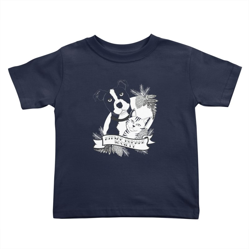 Tattoo Style KHS Kids Toddler T-Shirt by Kitsap Humane Society's Artist Shop