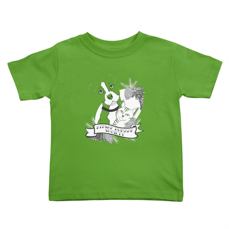 Tattoo Style KHS Kids Toddler T-Shirt by Kitsap Humane Society's Artist Shop