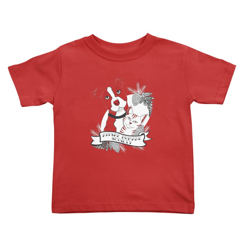 Tattoo Style KHS Kids Toddler T-Shirt by Kitsaphumanesociety's Artist Shop