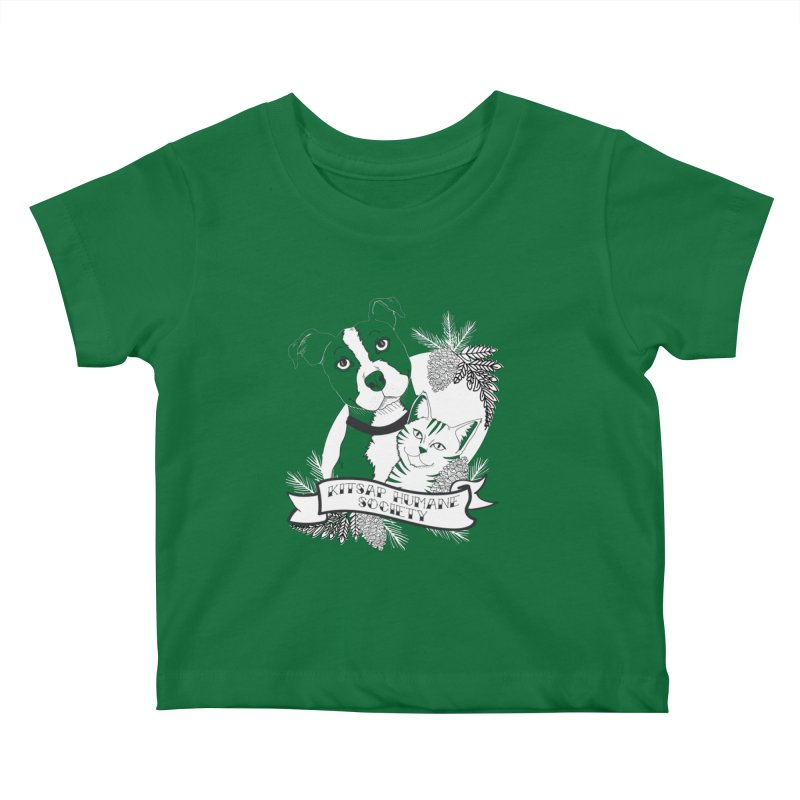 Tattoo Style KHS Kids Baby T-Shirt by Kitsap Humane Society's Artist Shop
