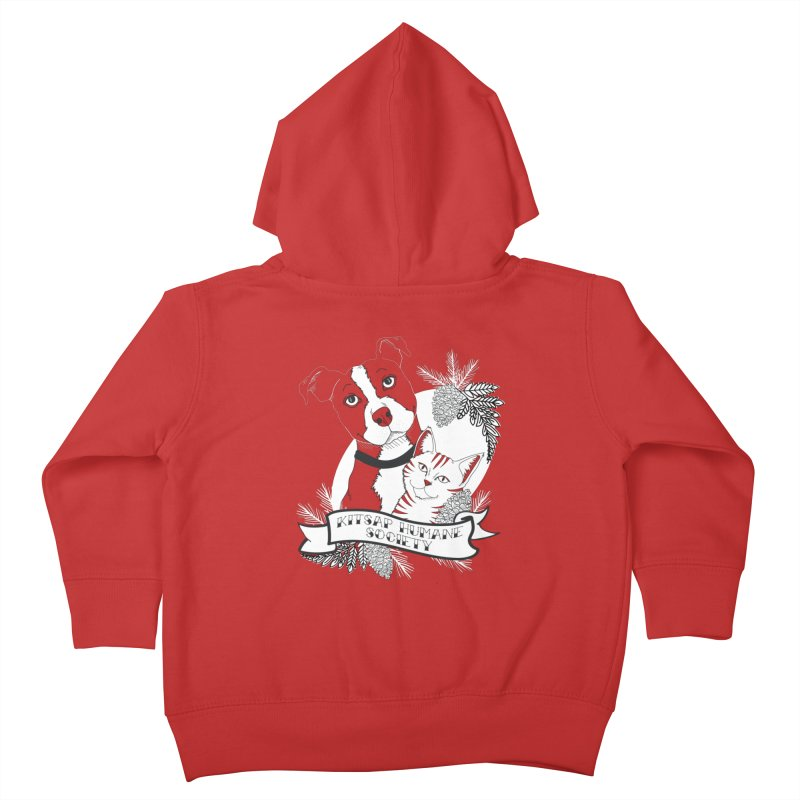 Tattoo Style KHS Kids Toddler Zip-Up Hoody by Kitsap Humane Society's Artist Shop