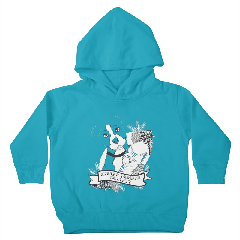 Tattoo Style KHS Kids Toddler Pullover Hoody by Kitsap Humane Society's Artist Shop