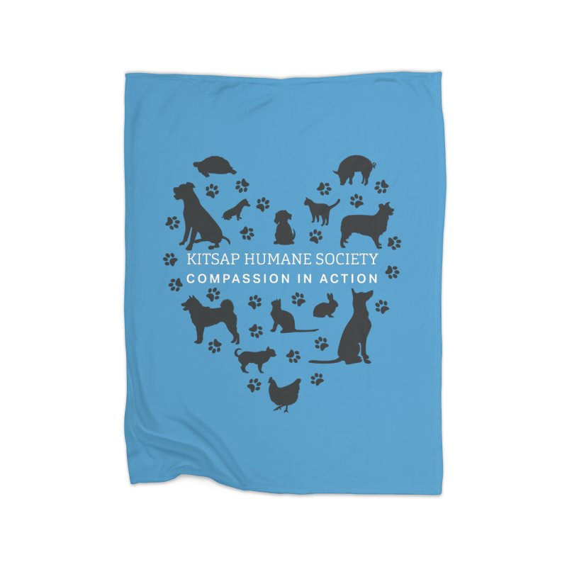 Building a Humane Community Home Blanket by Kitsaphumanesociety's Artist Shop