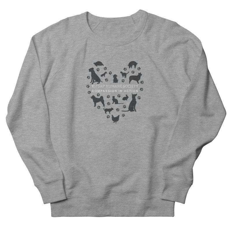 Building a Humane Community Women's French Terry Sweatshirt by Kitsaphumanesociety's Artist Shop