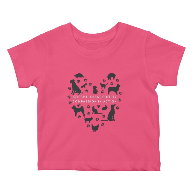 Building a Humane Community Kids Baby T-Shirt by Kitsaphumanesociety's Artist Shop