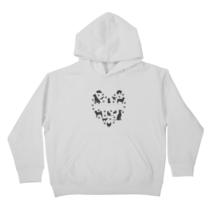 Building a Humane Community Kids Pullover Hoody by Kitsaphumanesociety's Artist Shop