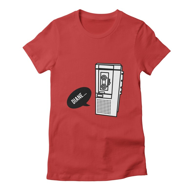 Diane... Women's Fitted T-Shirt by Kittyatemycamera's Artist Shop
