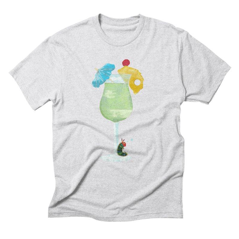 The Very Tipsy Caterpillar Men's Triblend T-shirt by Kittyatemycamera's Artist Shop