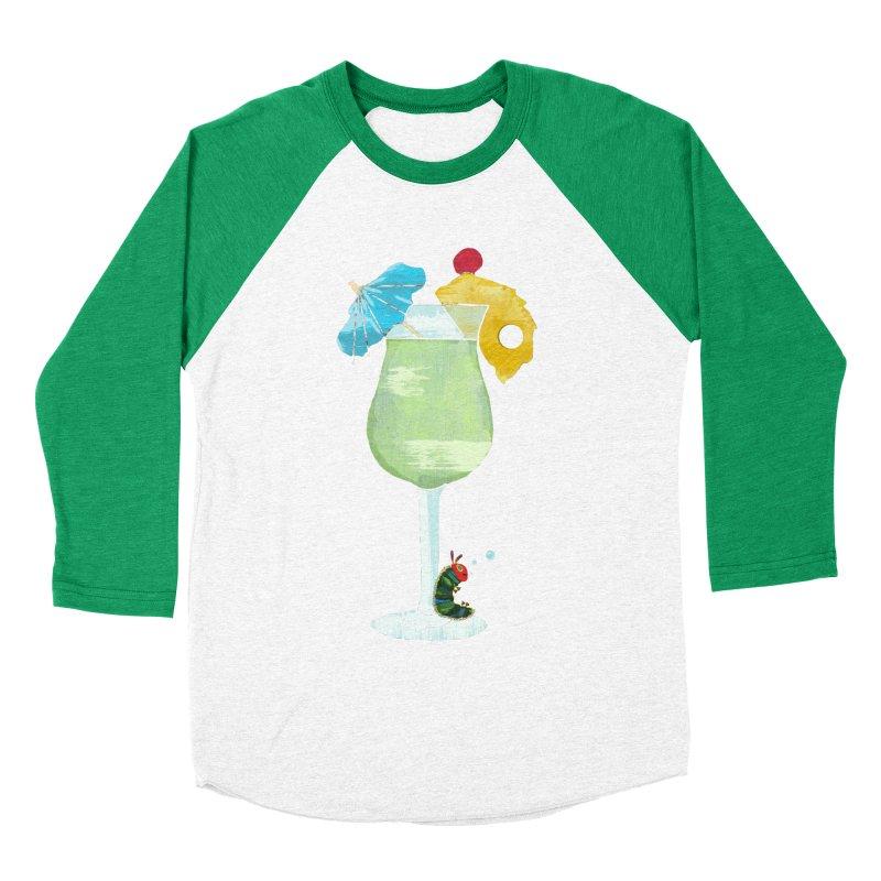 The Very Tipsy Caterpillar Men's Baseball Triblend T-Shirt by Kittyatemycamera's Artist Shop