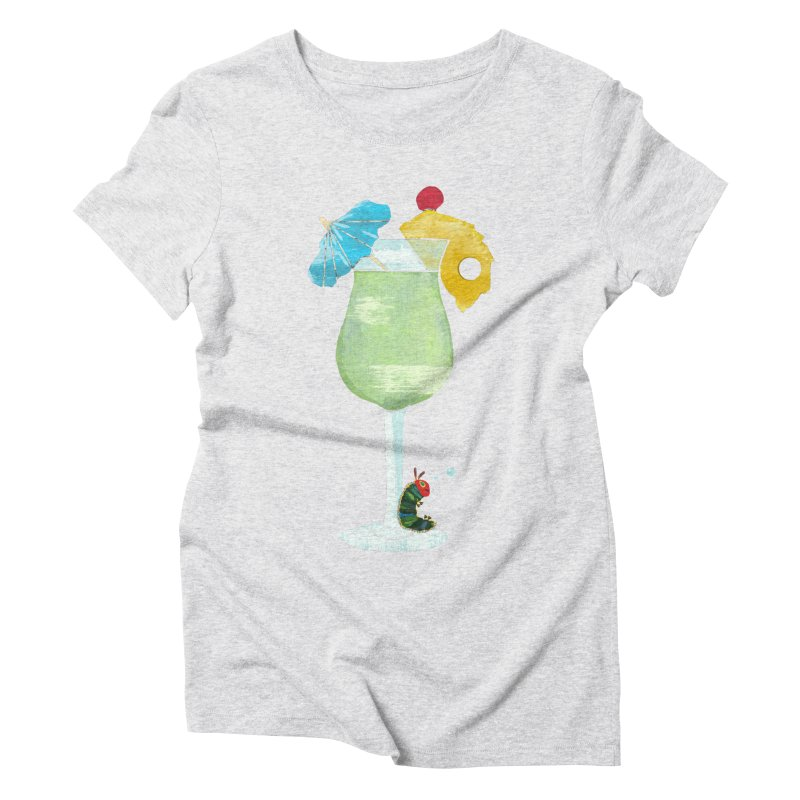The Very Tipsy Caterpillar Women's Triblend T-Shirt by Kittyatemycamera's Artist Shop