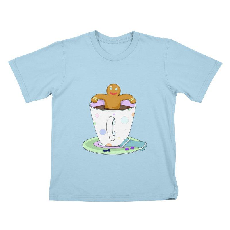 Just dunkin' Kids T-shirt by Kittyatemycamera's Artist Shop