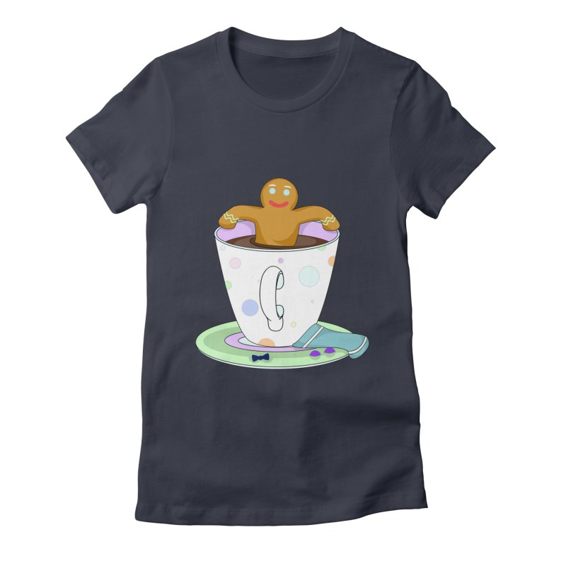 Just dunkin' Women's Fitted T-Shirt by Kittyatemycamera's Artist Shop