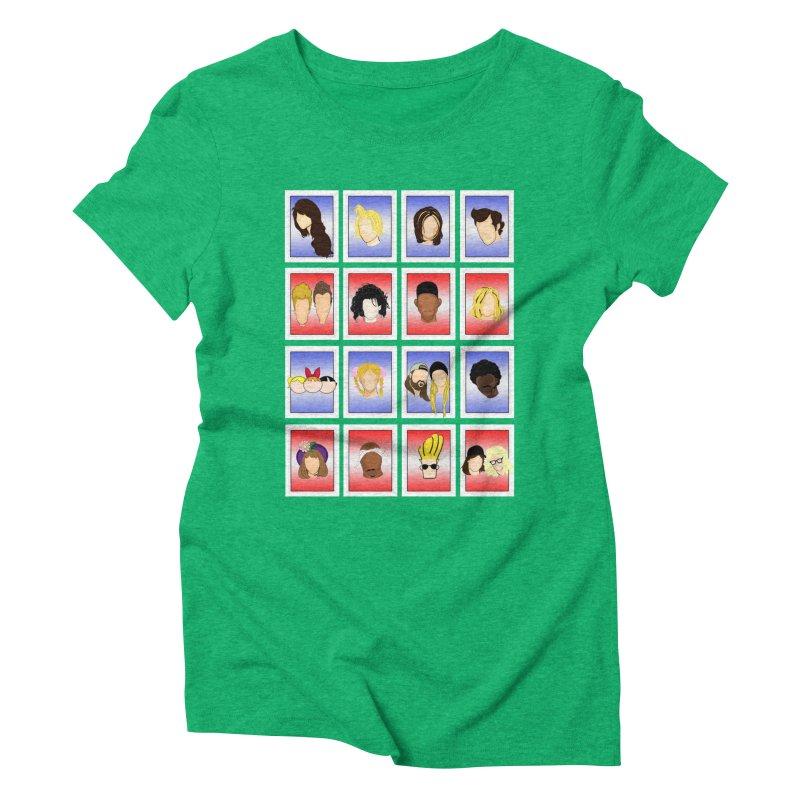 Guess Who  Women's Triblend T-Shirt by Kittyatemycamera's Artist Shop