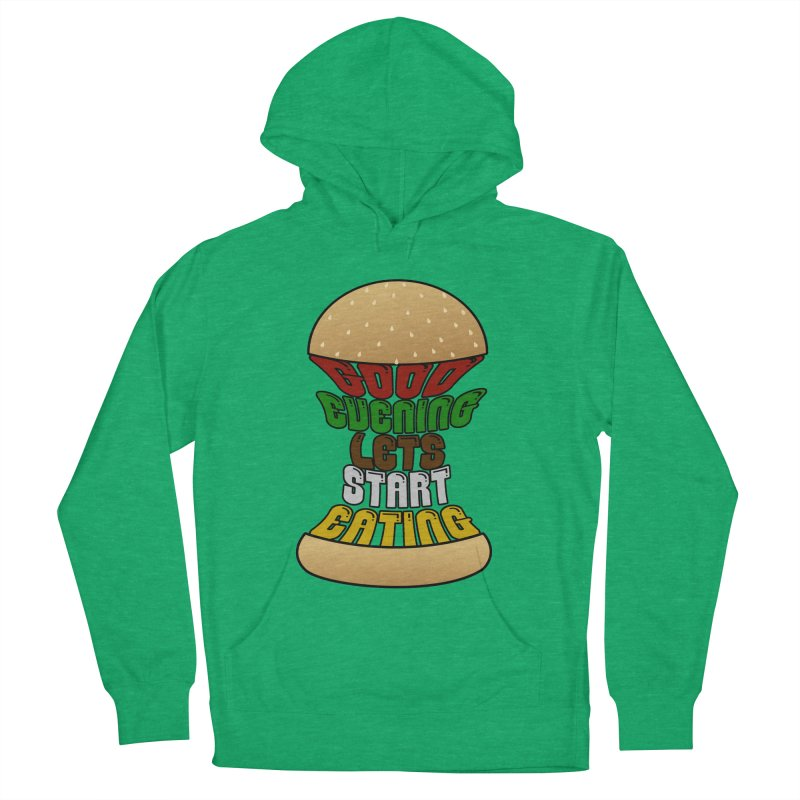 Good evening, lets start eating! Men's Pullover Hoody by Kittyatemycamera's Artist Shop