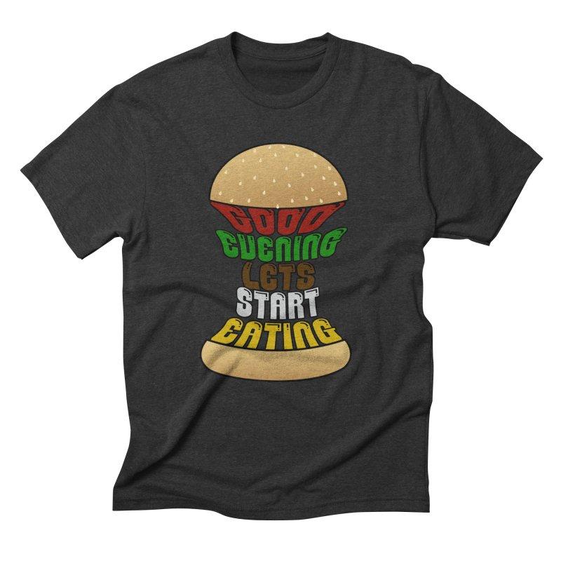 Good evening, lets start eating! Men's Triblend T-shirt by Kittyatemycamera's Artist Shop