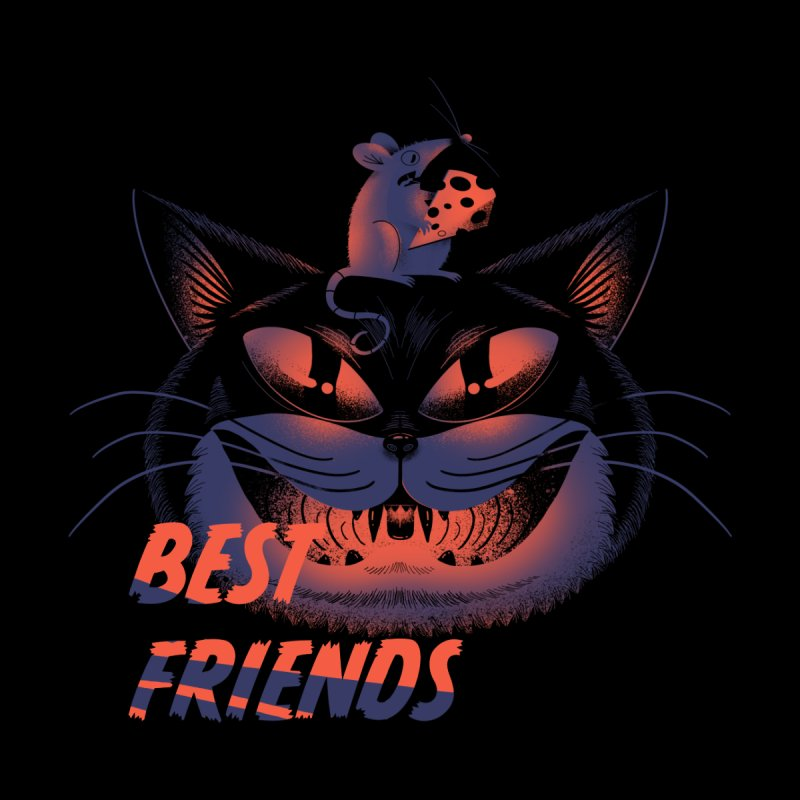 Best Friends T-shirt by Pierre's Artist Shop