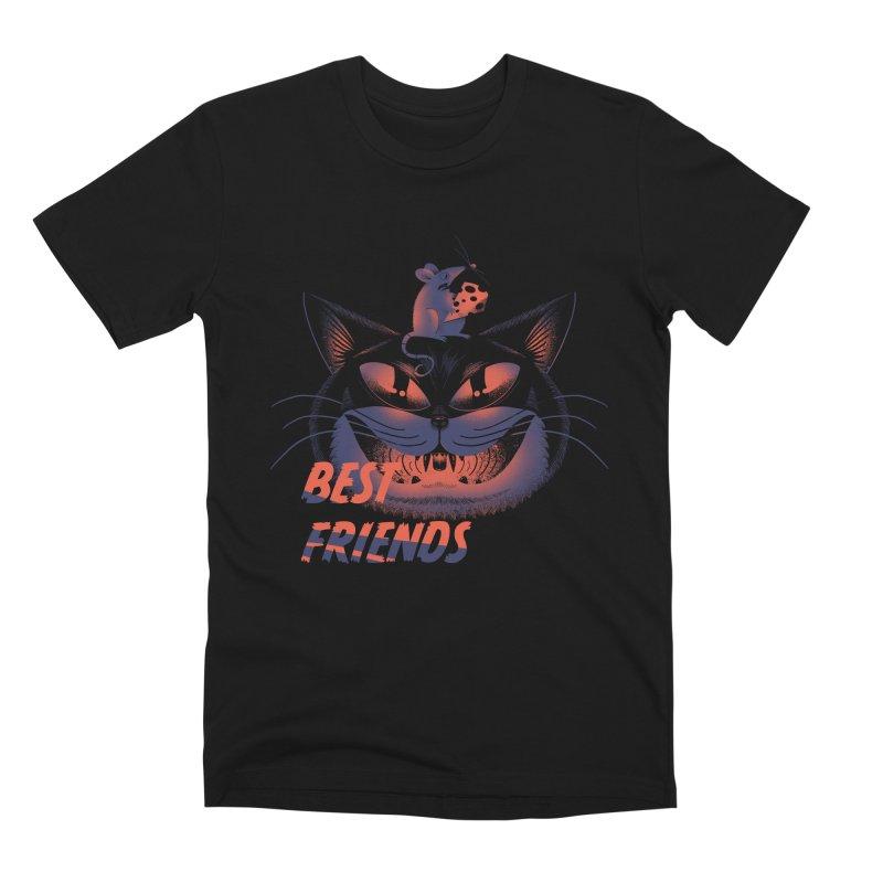 Best Friends T-shirt Men's Premium T-Shirt by Pierre's Artist Shop