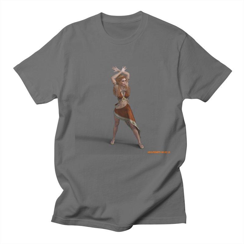 Divinity Goddess in Men's Regular T-Shirt Asphalt by KnightQuest 's Artist Shop