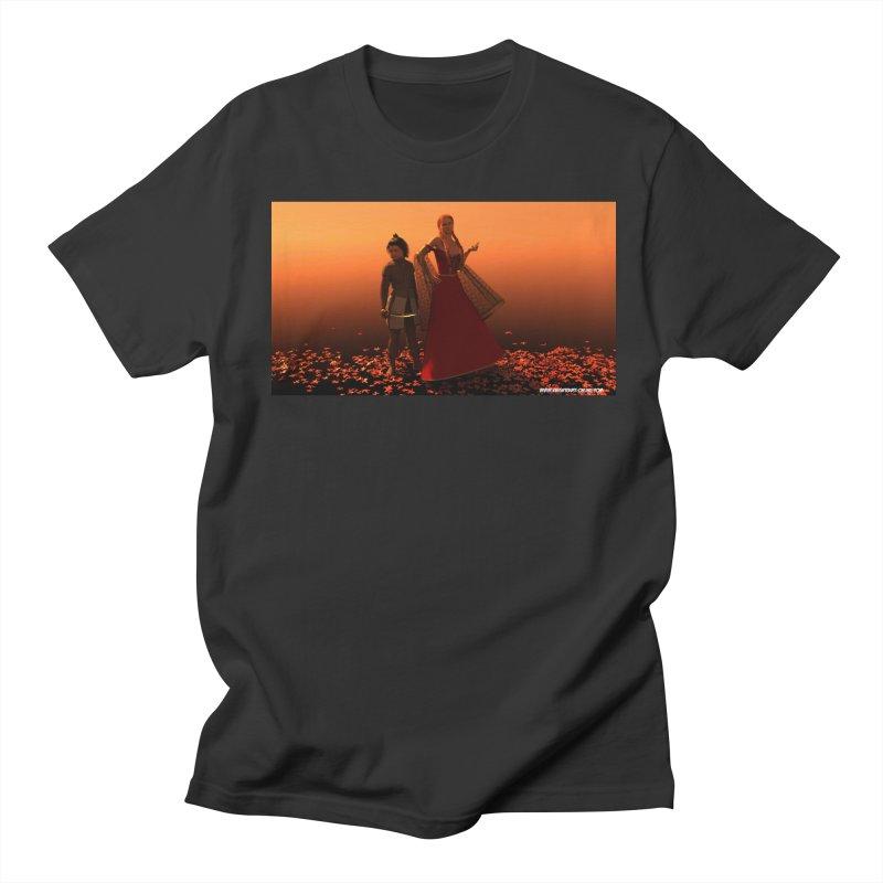 Leaves in Men's Regular T-Shirt Smoke by KnightQuest 's Artist Shop