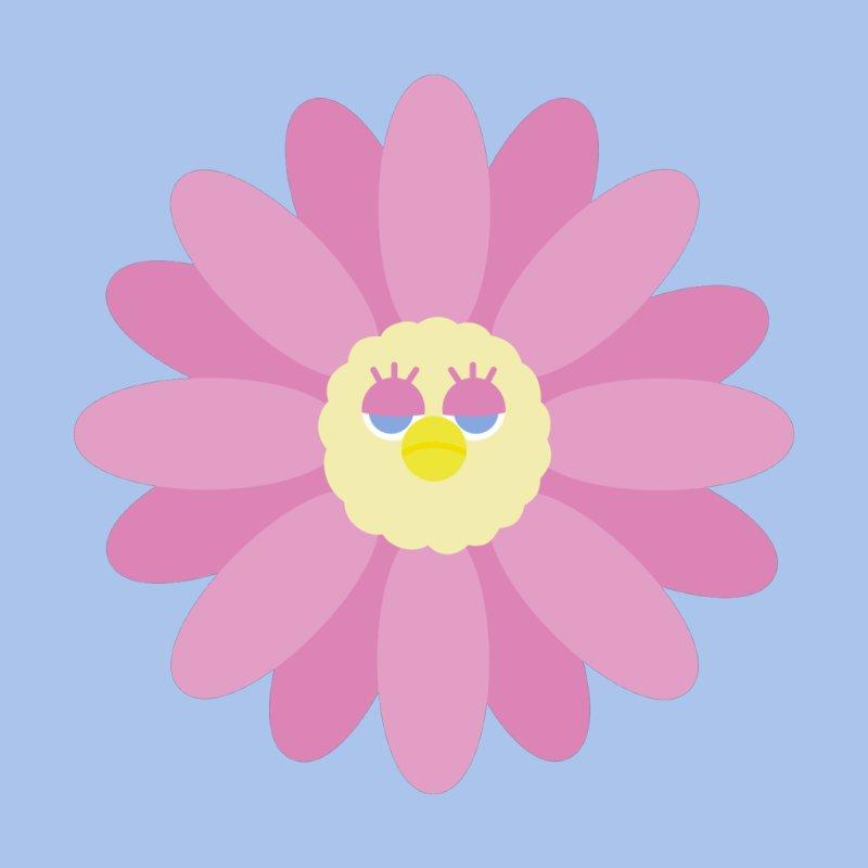 Furby Flower Men's T-Shirt by Kitty Nowack Designs