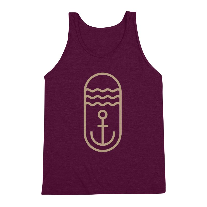 Hope Men's Triblend Tank by Koivo's Artist Shop