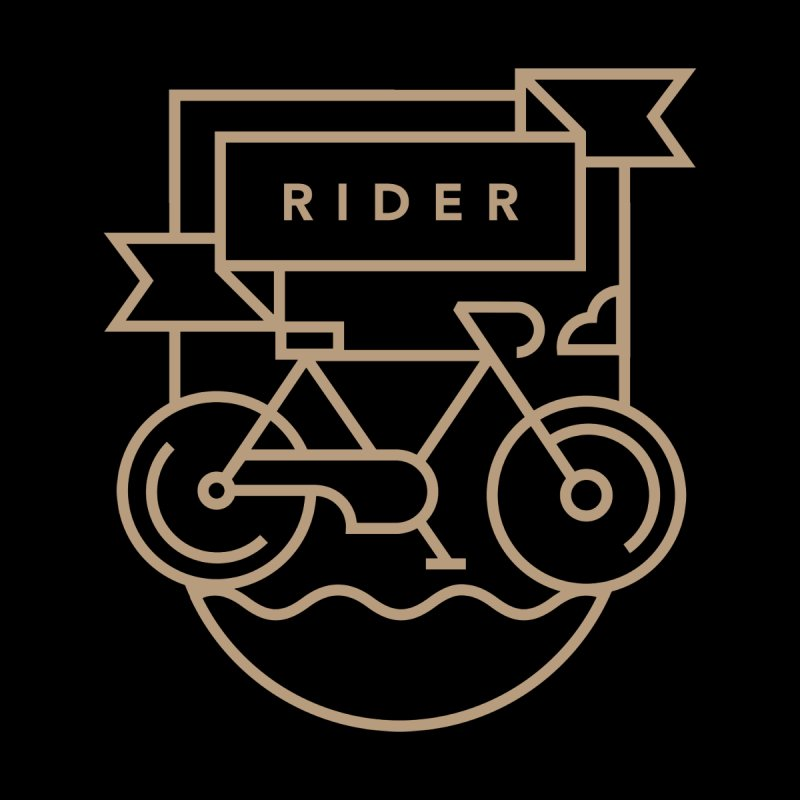 Bike Rider by Koivo's Artist Shop