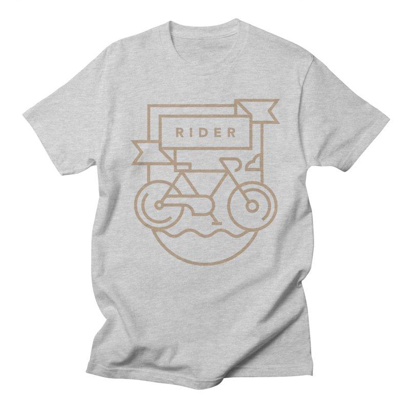 Bike Rider Men's T-Shirt by Koivo's Artist Shop
