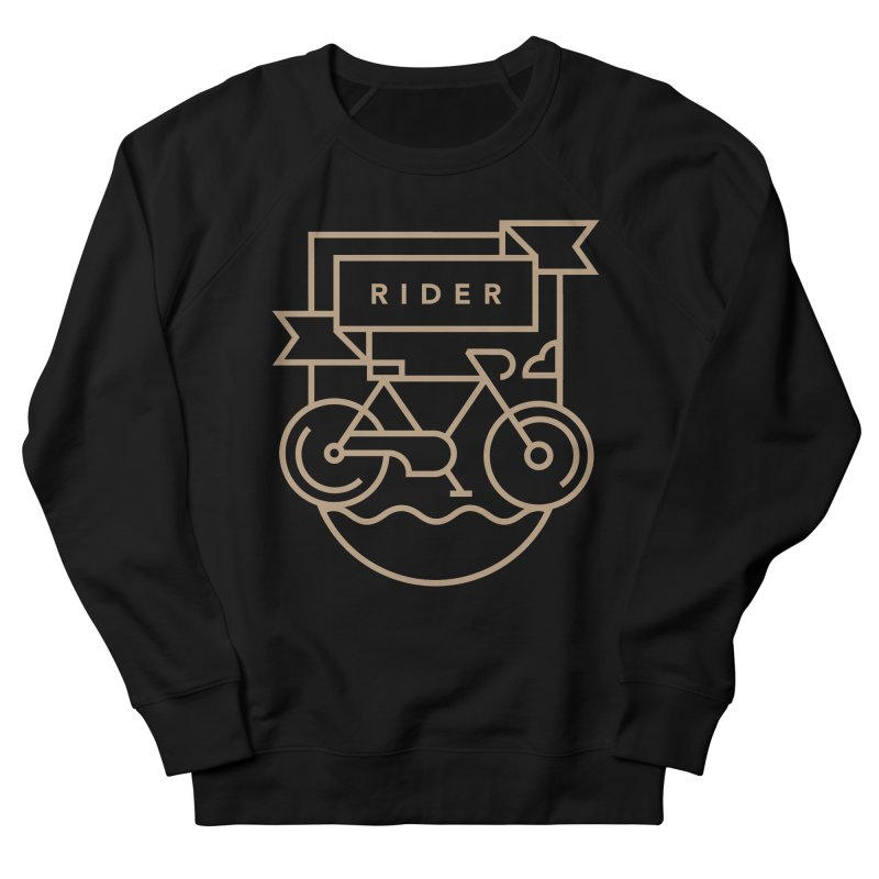 Bike Rider Men's Sweatshirt by Koivo's Artist Shop