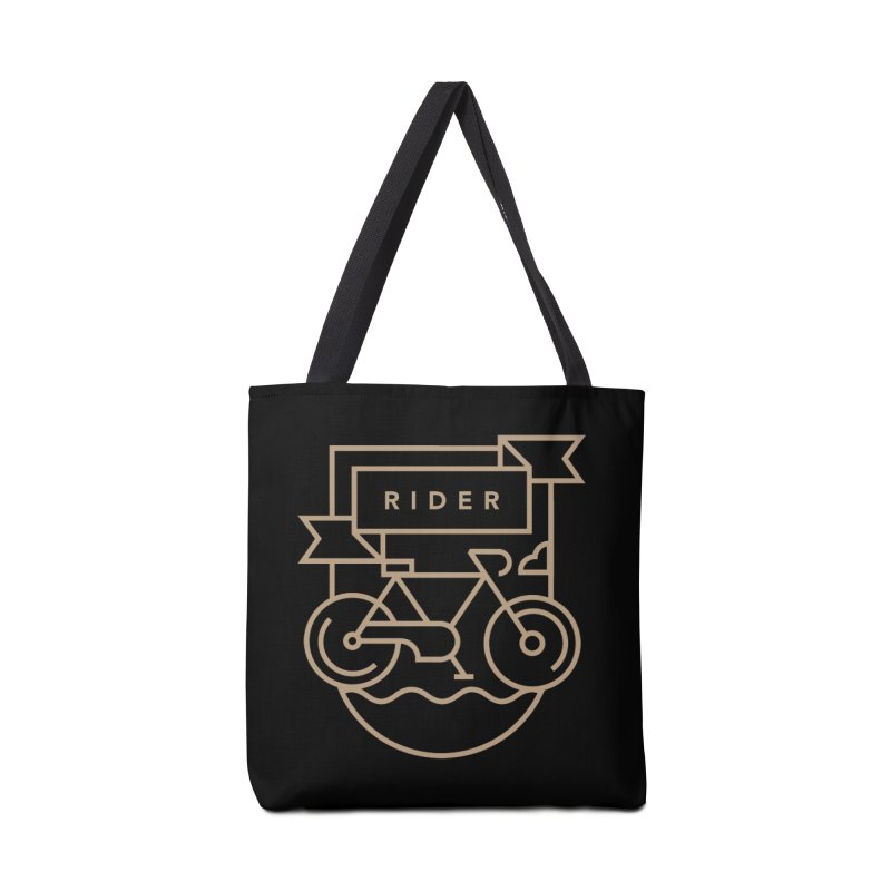 Bike Rider Accessories Tote Bag Bag by Koivo's Artist Shop