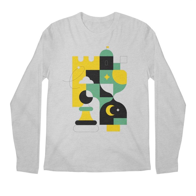 Chess I Men's Longsleeve T-Shirt by Koivo's Artist Shop