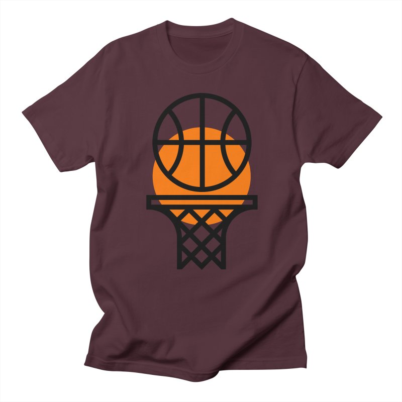 Basketball Men's T-Shirt by Koivo's Artist Shop