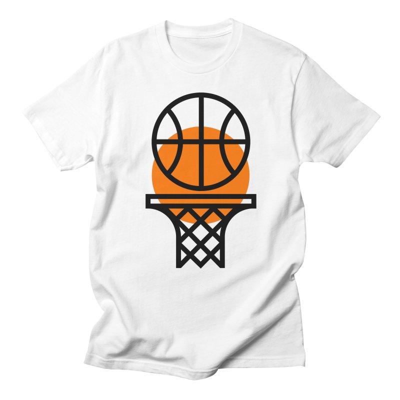 Basketball Men's Regular T-Shirt by Koivo's Artist Shop