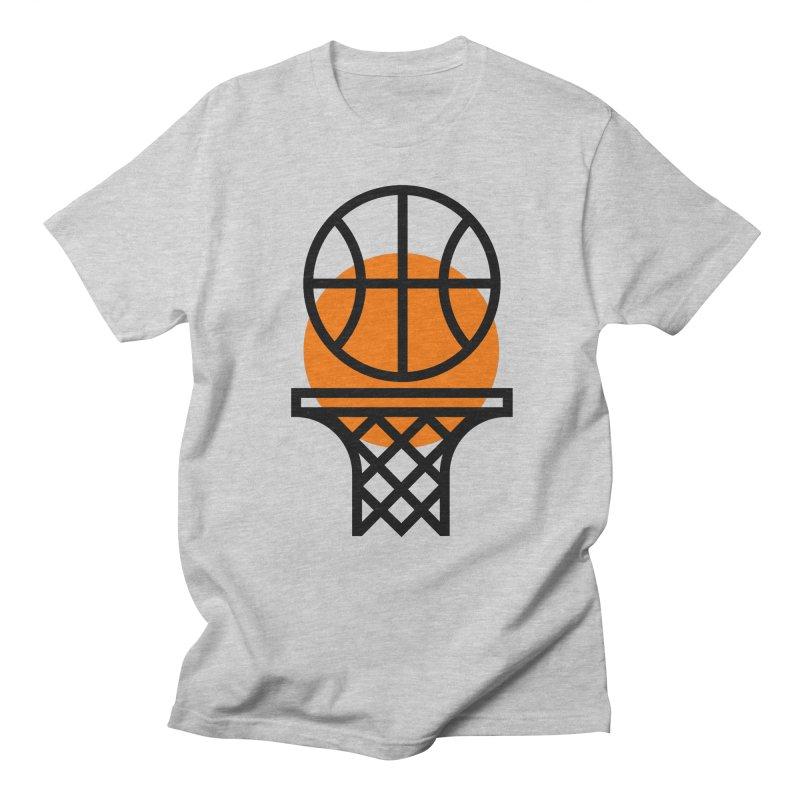 Basketball Men's T-shirt by Koivo's Artist Shop