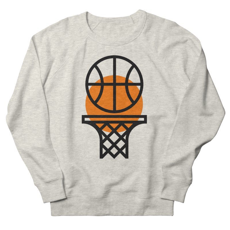 Basketball Women's Sweatshirt by Koivo's Artist Shop