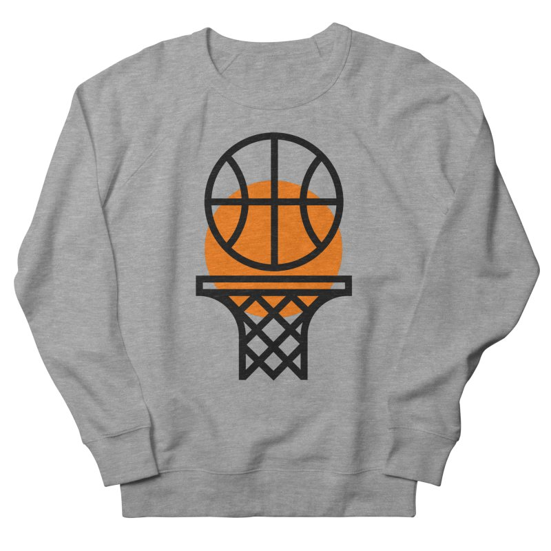 Basketball Men's Sweatshirt by Koivo's Artist Shop