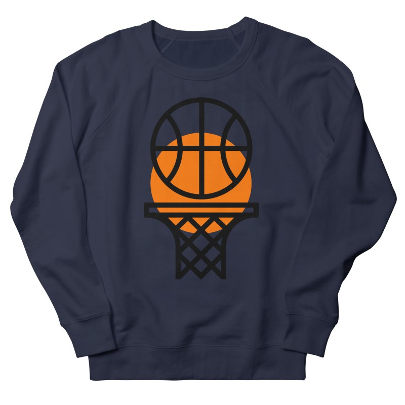 Basketball Men's French Terry Sweatshirt by Koivo's Artist Shop