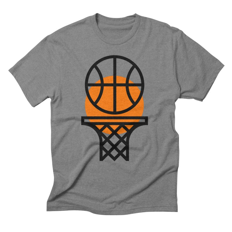 Basketball Men's Triblend T-Shirt by Koivo's Artist Shop
