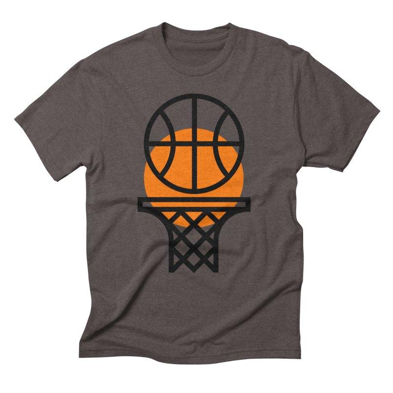 Basketball Men's Triblend T-Shirt by Koivo's Artist Shop
