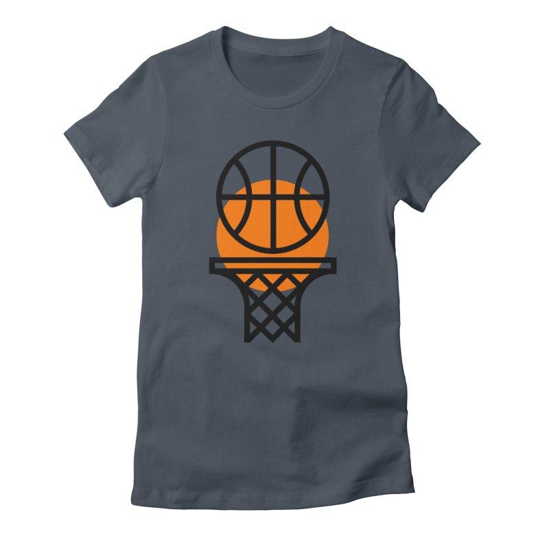 Basketball Women's T-Shirt by Koivo's Artist Shop