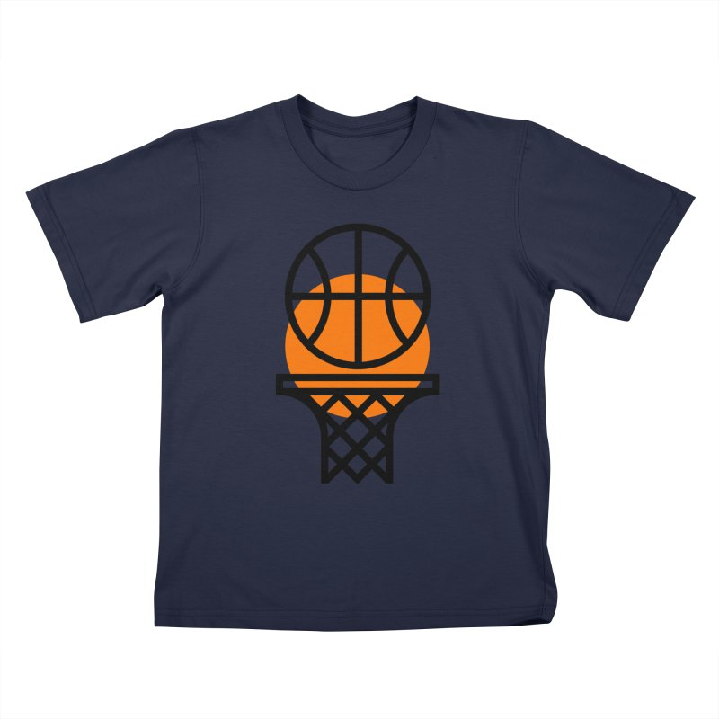 Basketball Kids T-shirt by Koivo's Artist Shop