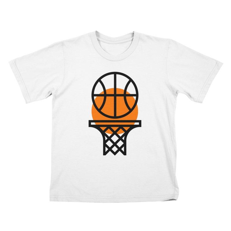 Basketball Kids T-Shirt by Koivo's Artist Shop