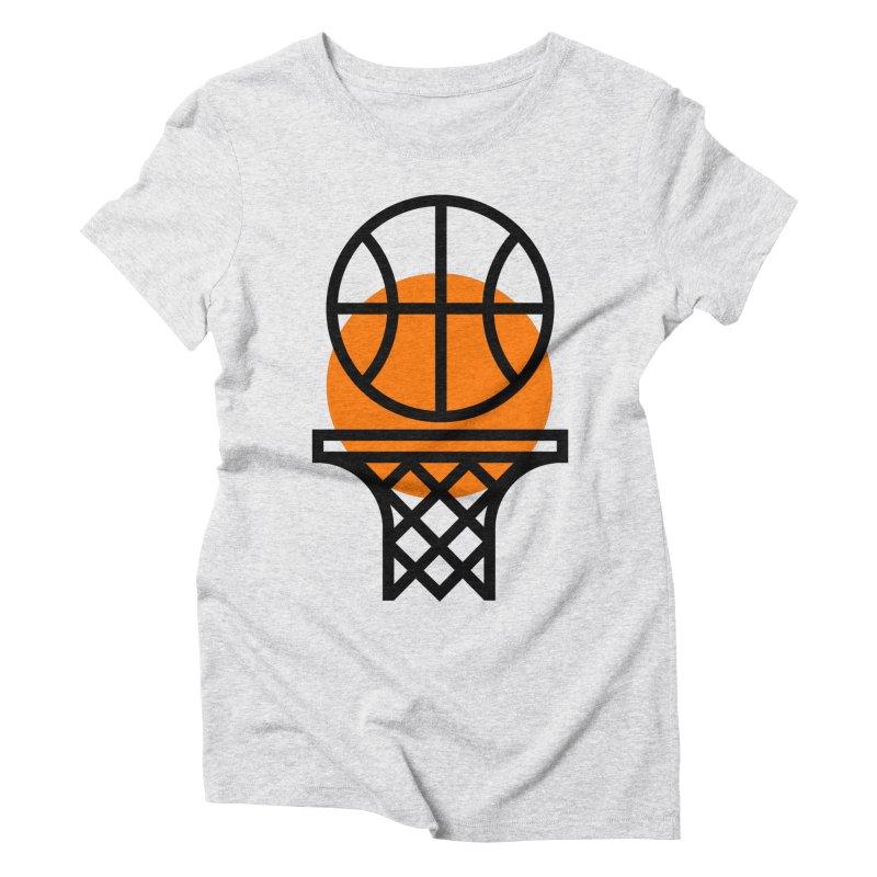Basketball Women's Triblend T-Shirt by Koivo's Artist Shop