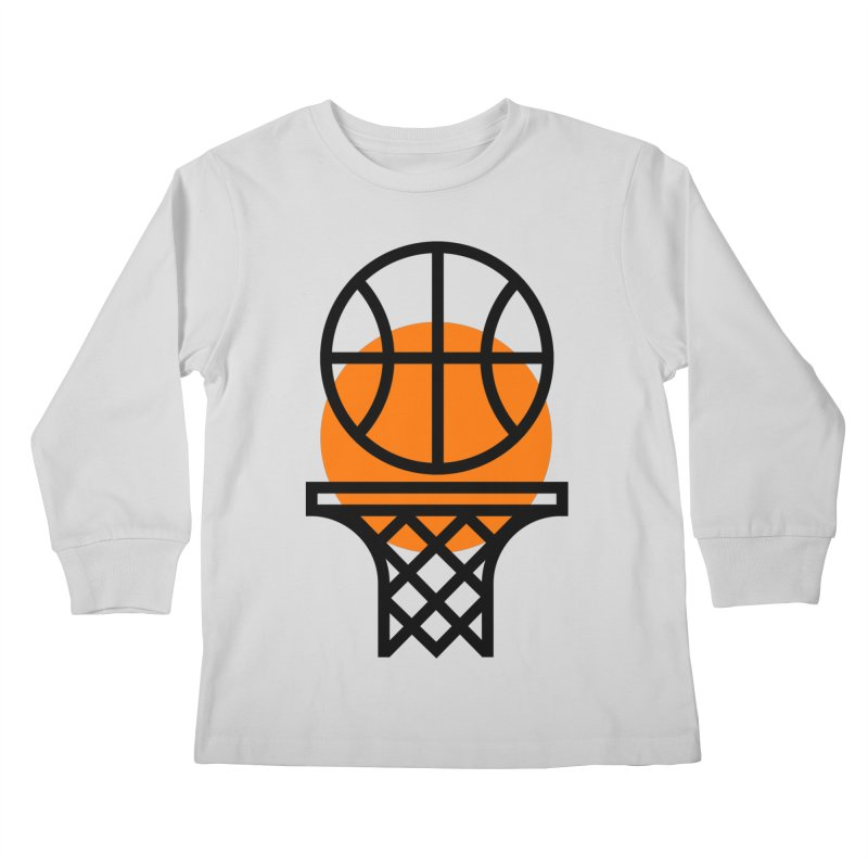 Basketball Kids Longsleeve T-Shirt by Koivo's Artist Shop