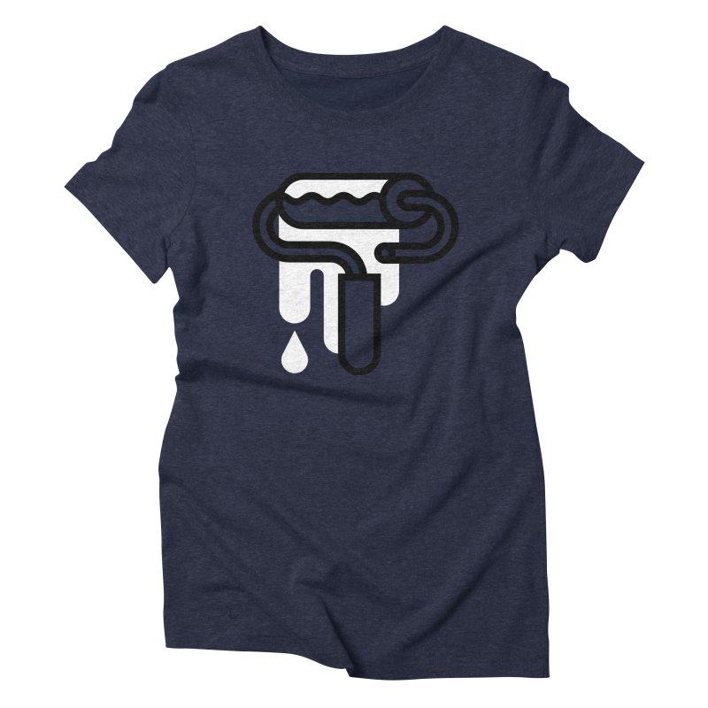 Fresh Paint Women's Triblend T-Shirt by Koivo's Artist Shop