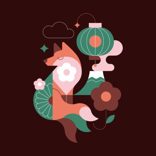 Design for Kitsune Sleeping Fox
