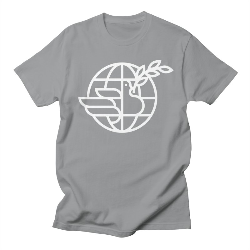 Peace in the World Men's T-Shirt by Koivo's Artist Shop